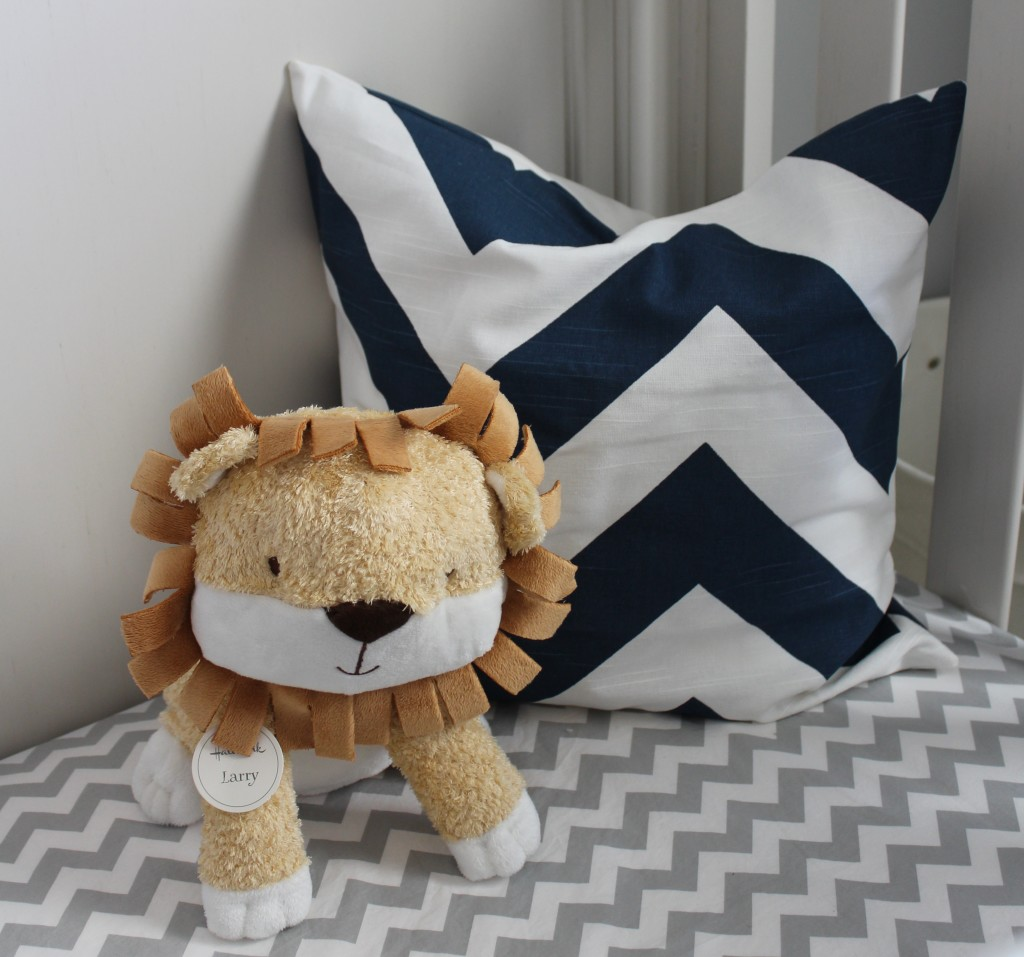 Crib Bedding with Larry the Lion